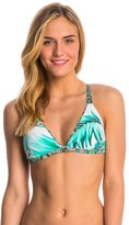 Body Glove Swimwear TropiCal Flare Reversible Triangle Bikini Top - 8145680