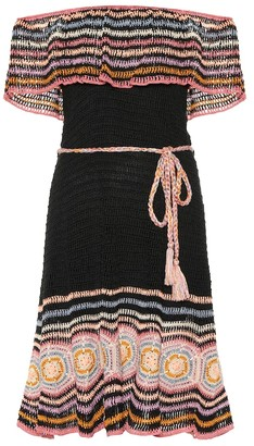 Anna Kosturova Carmen crochet dress