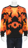 Givenchy Flame Print Sweatshirt