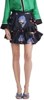 Cynthia Rowley Criss Cross Ruffle Skirt