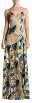 Dress the Population Florence Floral Embroidered Dress