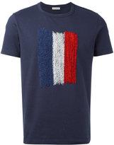 Moncler flag print T-shirt - men - Cotton/Polyester - M