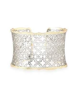 Kendra Scott Candice Cuff Bracelet in Silver Filigree
