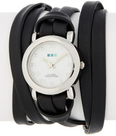 La Mer Women's Silver Saturn Wrap Watch