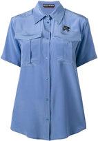 Rochas short sleeve military shirt