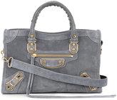 Balenciaga Classic City shoulder bag - women - Suede - One Size