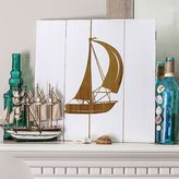 Cathy's Concepts Cathys concepts Rustic Sailboat Wooden Wall Art