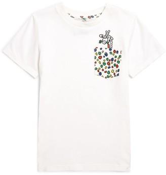 Stella McCartney Cotton Polka-Dot Pocket T-Shirt