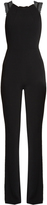 Roland Mouret Stretch-crepe sleeveless jumpsuit