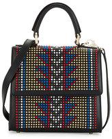 Les Petits Joueurs Handbags Mini Alex Studs Satchel Bag, Multi