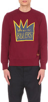 Vivienne Westwood Who are our Rulers cotton-jersey sweatshirt