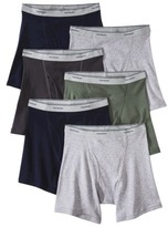Fruit of the Loom Men's 4+2 Free Boxer Briefs - Assorted Colors