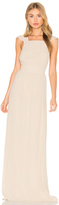 Hoss Intropia Sleeveless Square Neck Maxi Dress