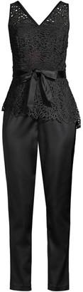 Donna Karan Ivy Lace Top Jumpsuit