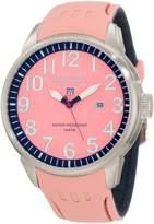River Woods Women's RW 5 M PD SCPBL Luminous Pink Watch