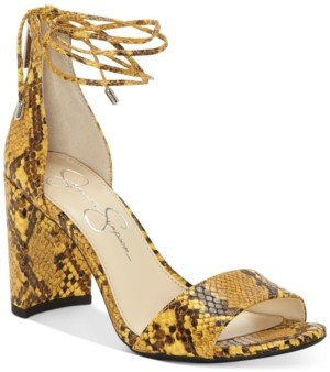 Jessica Simpson Nehah Ankle-Tie Dress Sandals Women's Shoes