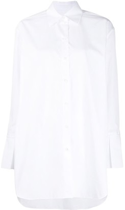 Valentino Button Down Shirt with Flare Sleeves