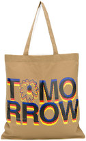 Stella McCartney slogan tote bag - men - Cotton - One Size