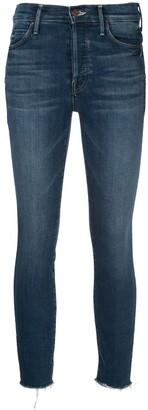 Mother Slim Fit Denim Jeans