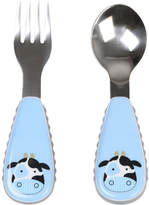 Skip Hop Cow Zoo Utensil Set