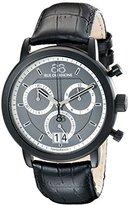 88 Rue du Rhone Men's 87WA130021 Analog Display Swiss Quartz Black Watch