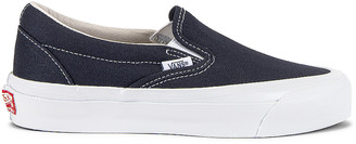 Vans OG Classic Slip-On LX in Navy | FWRD