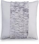 "Bar III Box Pleat Sand 16"" Square Decorative Pillow"