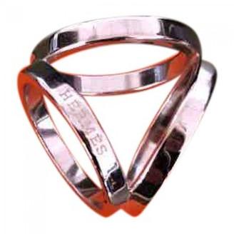 Hermes Anneau de Foulard Silver Other Scarves