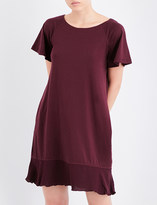 Skin Flared-hem cotton chemise