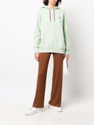 Paul Smith Embroidered-Logo Pullover Hoodie