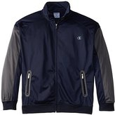 Champion Men's Big-Tall Tricot Full Zip Track Jacket