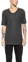 Alexander Wang Slub Low Neck T-Shirt