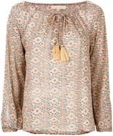 Vanessa Bruno flared design blouse
