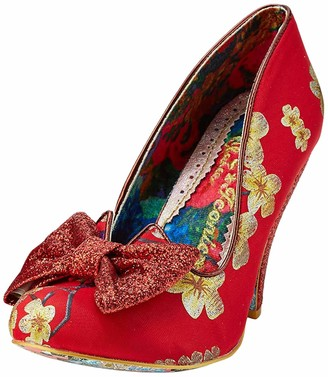 Irregular Choice Women's Nick of Time Closed Toe Heels