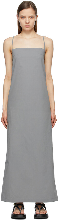 Thumbnail for your product : TheOpen Product Grey String Maxi Dress