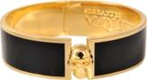 Alexander McQueen Skull Button Cuff Bracelet