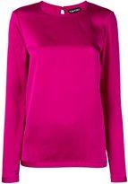 Tom Ford long sleeved blouse - women - Silk - 38