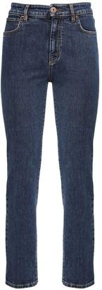 Max Mara Stretch Cotton Denim Skinny Jeans