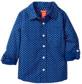 Joe Fresh Allover Print Dress Shirt (Toddler & Little Boys)