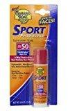 Banana Boat Sunscreen Sport Performance Broad Spectrum Sun Care Sunscreen Stick - SPF 50, 0.55 Ounce (Pack of 4)