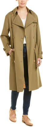 Burberry Relaxed Fit Tropical Gabardine Trench Coat