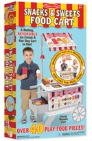 Melissa & Doug Kids' Snacks & Sweets Food Cart