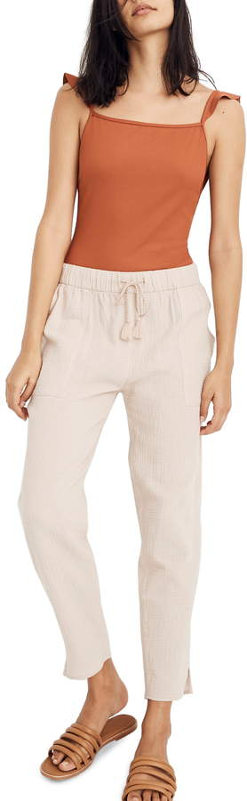 Madewell Beach Cover-Up Track Trousers