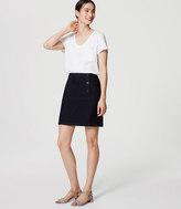 LOFT Denim Sailor Skirt