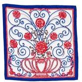 Hermes Jouvence Silk Pocket Square