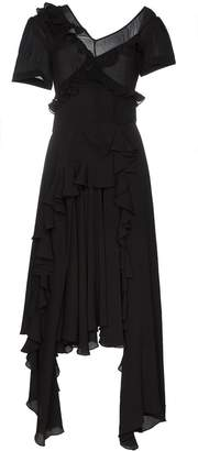 Preen by Thornton Bregazzi wendie ruffle detail dress