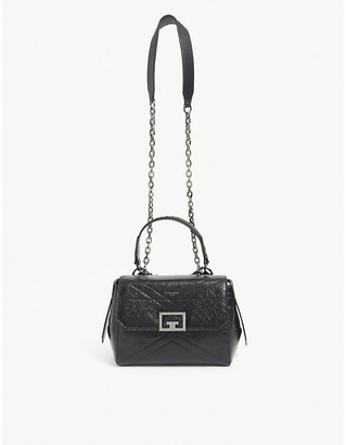 Givenchy ID small patent-leather shoulder bag