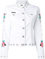 Philipp Plein Calla denim jacket - women - Cotton/Spandex/Elastane - S
