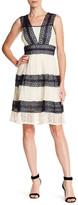 Ryu Crochet Contrast Sleeveless Dress