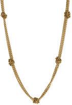Lauren by Ralph Lauren Knot Chain Necklace